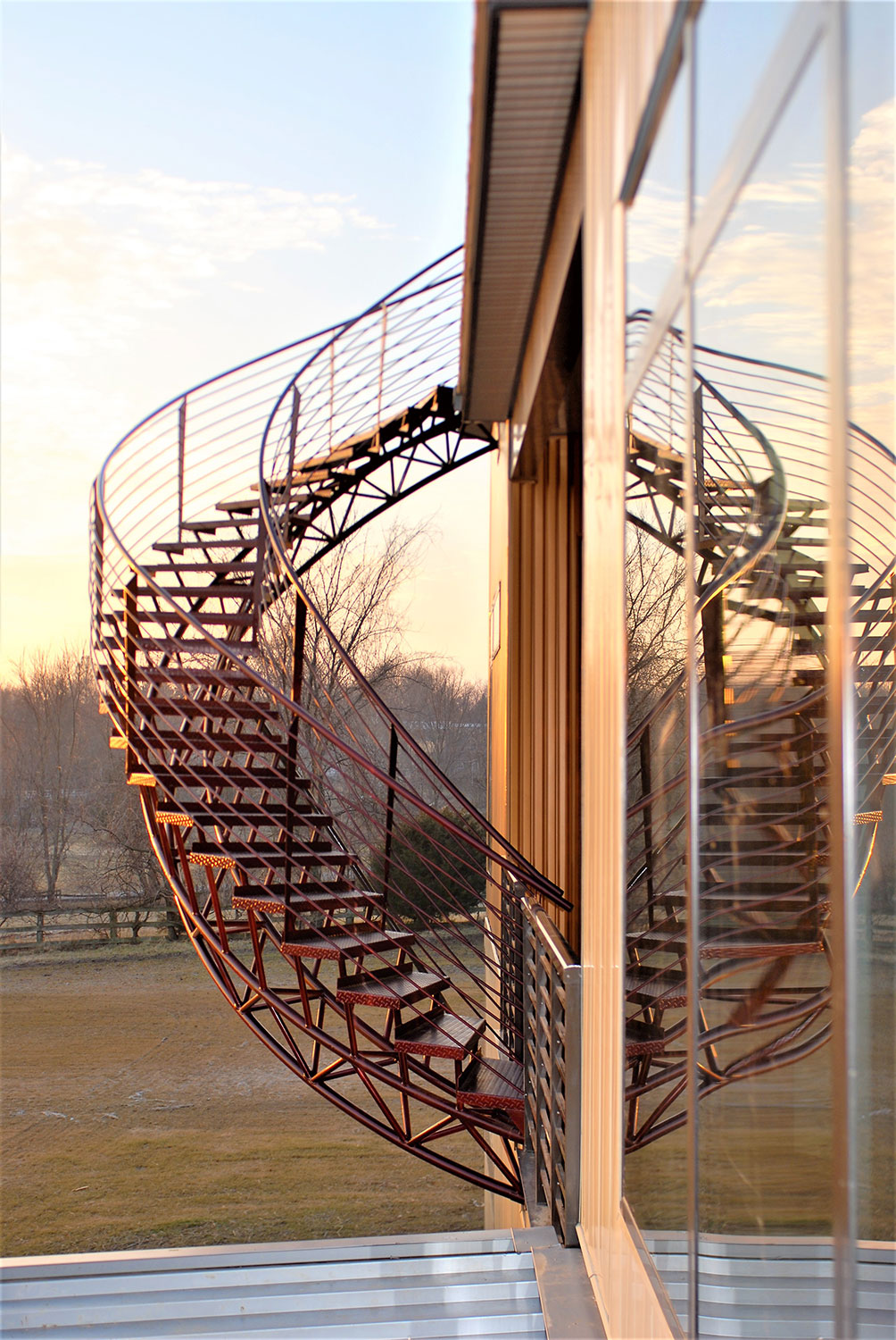 Helical Staircase 2
