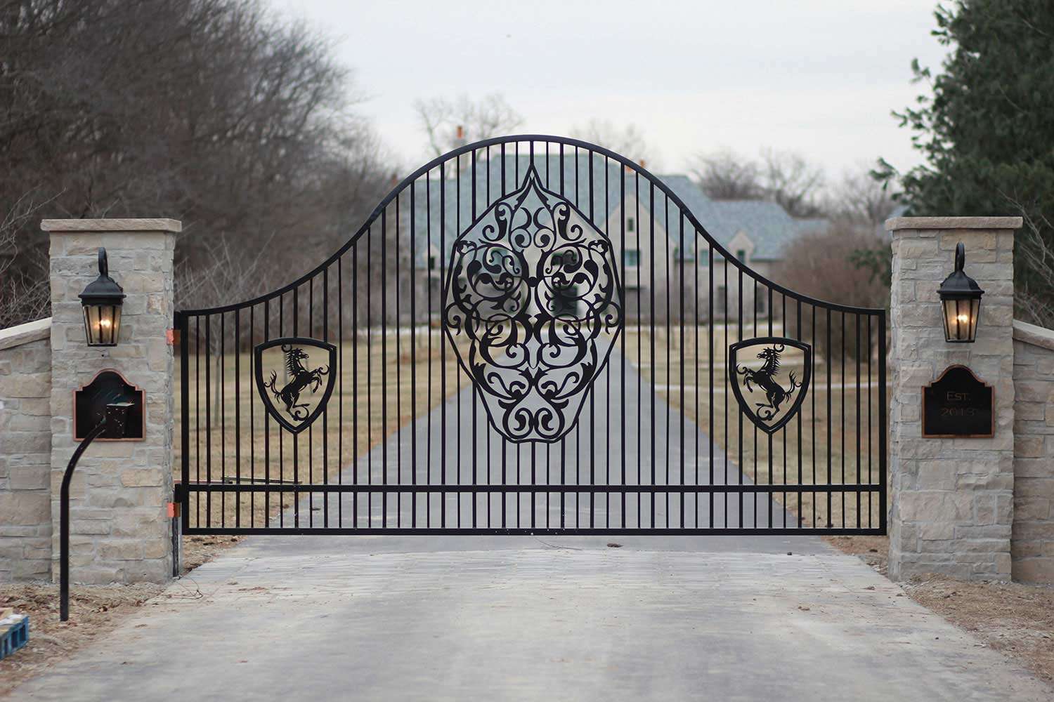 Residential Entry Gate 2