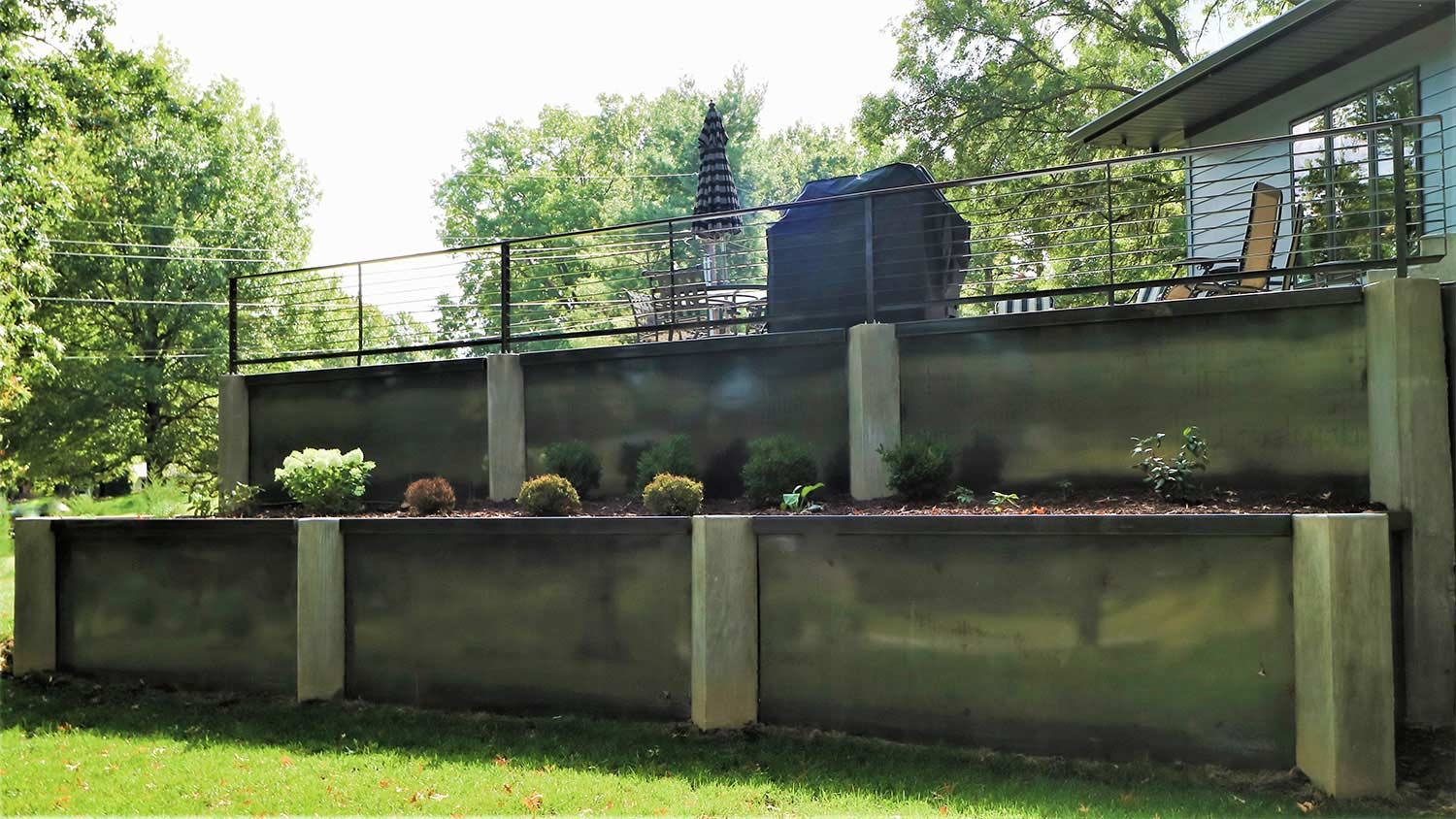 Retaining Wall Planter 2