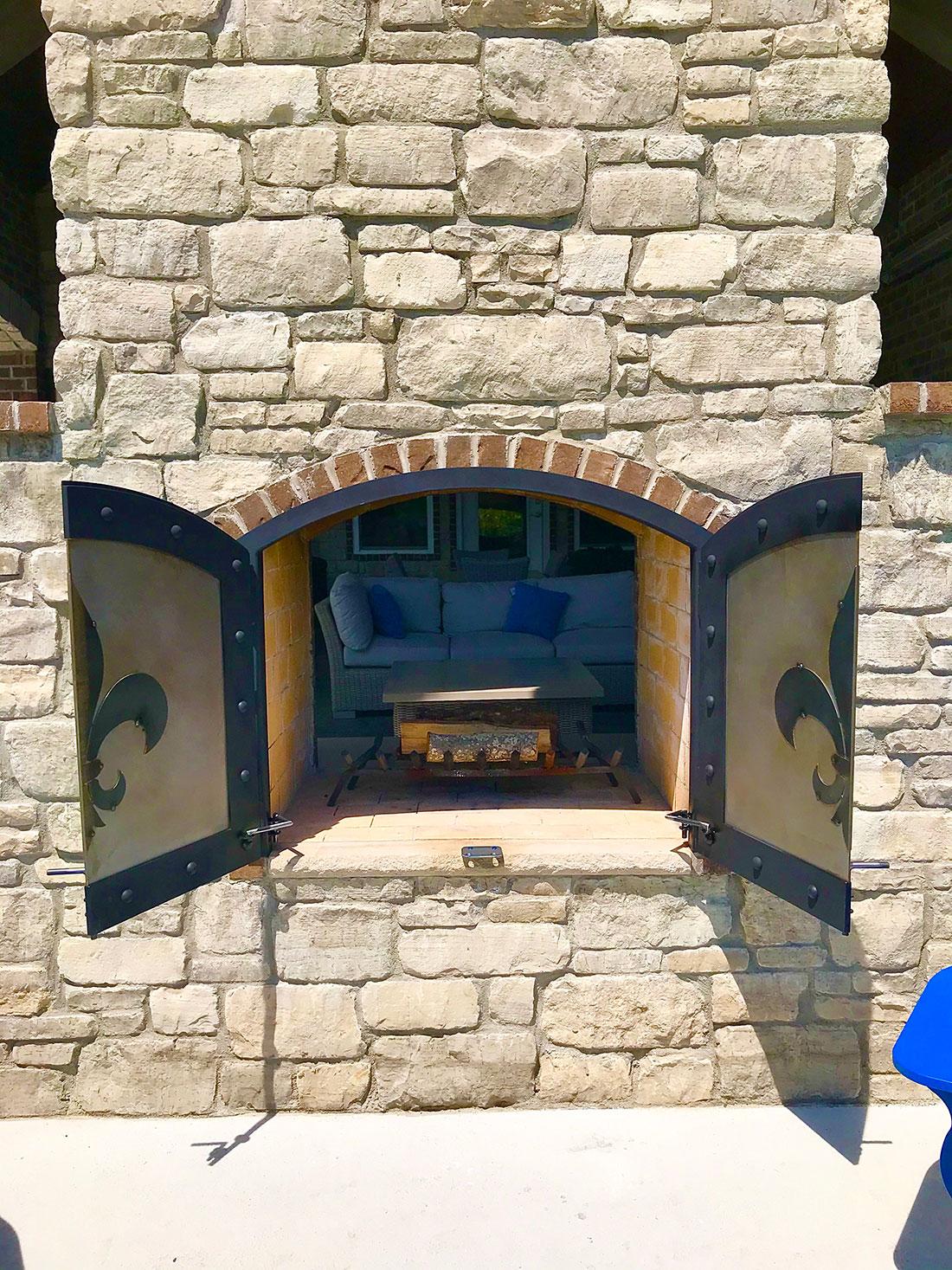 Fireplace Doors 2