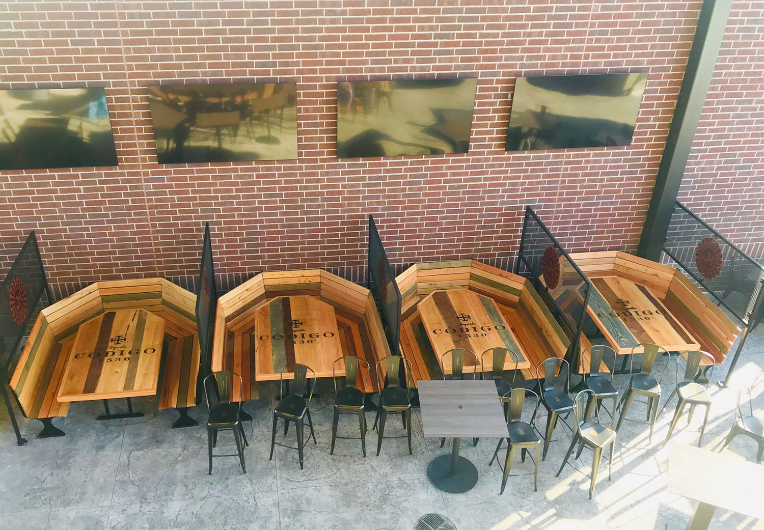 Steel and Wood Tables & Benches 2